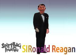 SI Ronald Reagan Character Stand