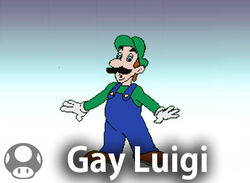 Gay Luigi Character Stand 2