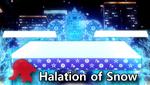 Halation of Snow