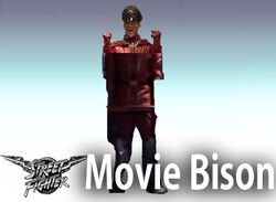 Movie Bison Character Stand