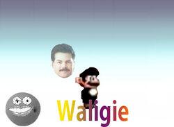 Waligie Character Stand