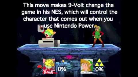 Smash Bros Lawl Moveset- 9-Volt-0