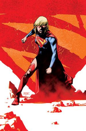 Supergirl 21 Textless