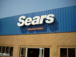 MOS Plano Illinois Set Sears3 with Smallville on sign