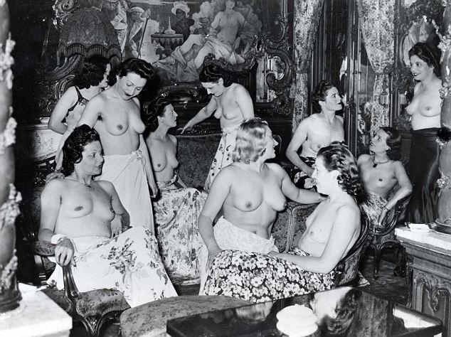 Порно фото времен вов