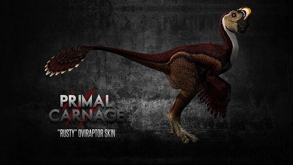 Rusty Oviraptor