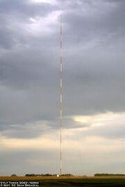 KVLY-TV mast