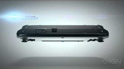 Nintendo Wii U GamePad Hardware Trailer - E3 2012 Nintendo Press Conference