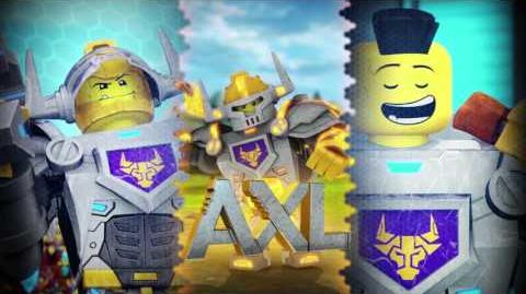 LEGO® NEXO KNIGHTS™ - Axl - Hungry for Action