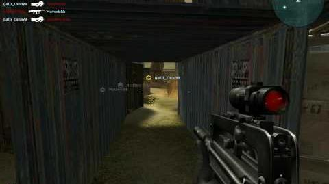 Combat arms black screen when i cross for a grenade fire or gas-0