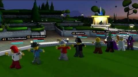 LEGO Universe Dancing and Jamming at Nimbus Station!