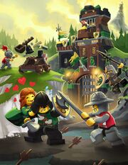 LEGO Universe Rayhawk Kingdoms PVP