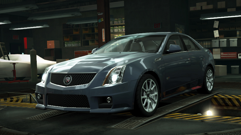 Image  NFSW Cadillac CTSV Bluejpg  Need for Speed Wiki