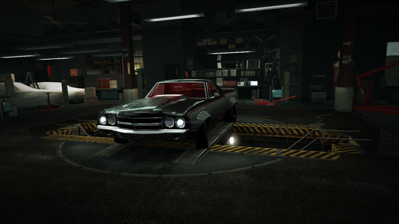 Image garage chevrolet el camino ss nfs for Garage chevrolet thionville