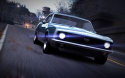 CarRelease Chevrolet Camaro SS Blue