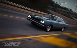 CarRelease Plymouth Road Runner Blue