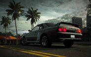 CarRelease Nissan Skyline GT-R R32 Grey 3