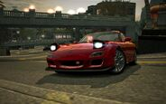 CarRelease Mazda RX-7 RZ Red 4