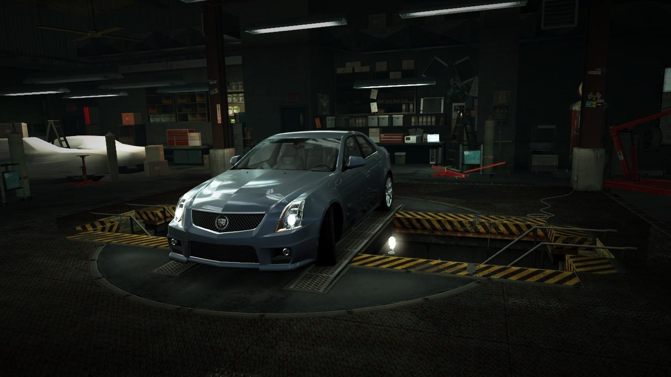 Image  Garage Cadillac CTSV Bluejpg  NFS World Wiki  FANDOM