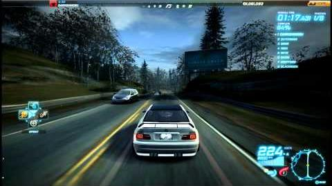 """NFS World - Sprint """"Hwy 99 & State"""" - Single Player - 60"""