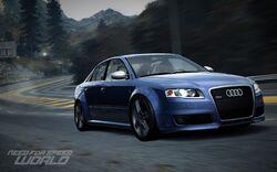 CarRelease Audi RS 4 Blue