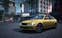 CarRelease Lexus IS 300 Yellow