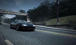 CarRelease Toyota Supra Black