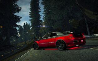 CarRelease Chrysler HEMI 300C SRT-8 Red Juggernaut