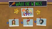 Wall of Wings