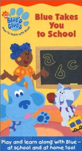 File:Blue's Clues Blue Takes You to School VHS.jpg