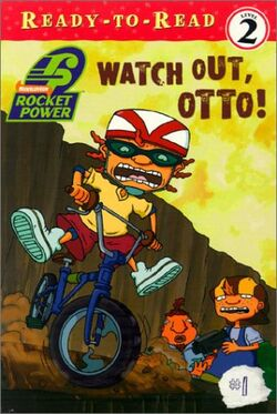 Roclet Power Watch Out Otto! Book