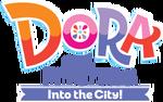 Dora and Friends Into the City - Original logo