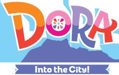 File:Dora and Friends Into the City - Original logo.png