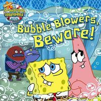 SpongeBob Movie Bubble Blowers Beware Book