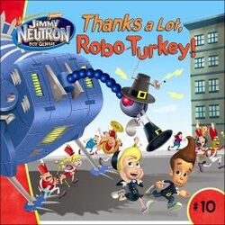 Jimmy Neutron Thanks a Lot Robo-Turkey! Book