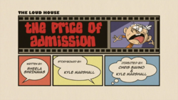 Title-The Price of Admission
