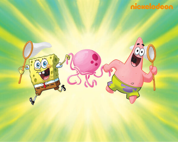 File:SpongeBob Jellyfishing Wallpaper.jpg