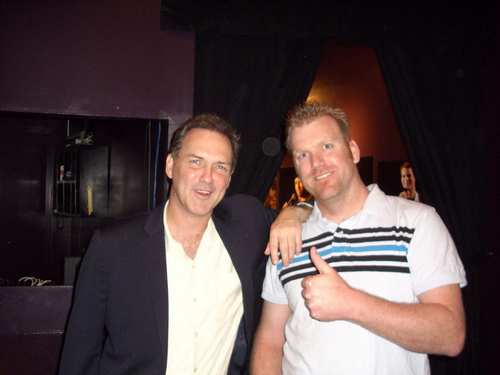 File:@darkdiscord with @norm mac after the Irvine Improv Show.jpg
