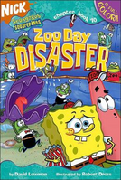SpongeBob Zoo Day Disaster Book