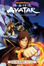Avatar The Last Airbender Smoke and Shadow Part Three Book