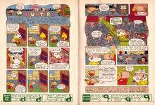 Nickelodeon Magazine Grampa Julie Shark Hunters September 2005