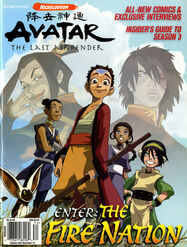 Avatar Enter the Fire Nation Nick Mag Presents 2007