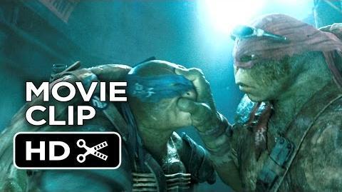 Teenage Mutant Ninja Turtles Movie CLIP - Sneaking In (2014) - Ninja Turtle Movie HD