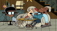 Howard and Harold McBride, Clyde's dads from the Loud House