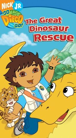 File:Go Diego Go! The Great Dinosaur Rescue VHS.jpg