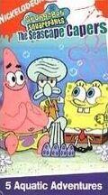 SpongebobVHS SeascapeCapers