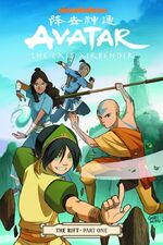 Avatar The Last Airbender The Rift Part One Book