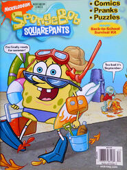 Nick Mag Presents Nickelodeon Comics September 2008 SpongeBob