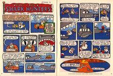 Nickelodeon Magazine Grampa Julie Shark Hunters Episode 4 January February 2000