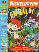 Nickelodeon Magazine cover June July 2003 Wild Thornberrys Rugrats